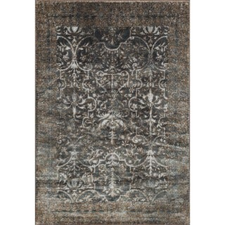 Kingsley Ornamental Slate/ Bronze Rug (9'2 x 12'2)