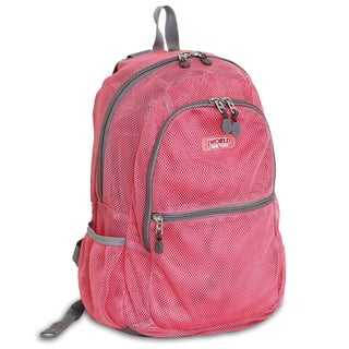 JWorld New York Mesh 18-inch Backpack