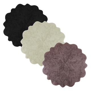 Sherry Kline Over Tufted Petals Bath Rug (Set Of 2)   32
