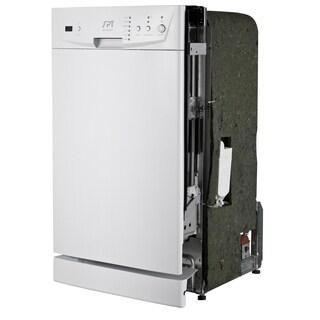 SPT Energy Star White 18-inch Built-In Dishwasher