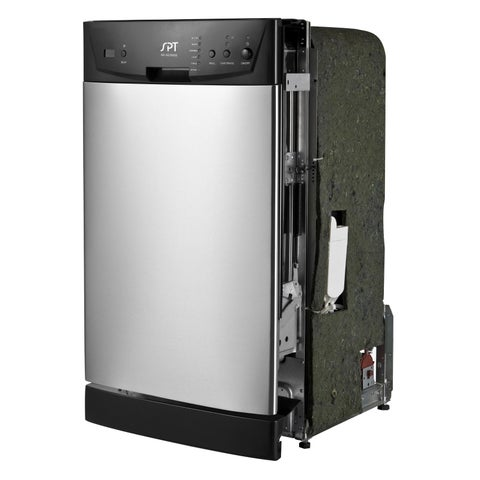 SPT Energy Star Stainless Steel 18-inch Built-In Dishwasher