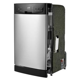 SPT Energy Star 18-inch Built-In Dishwasher - Stainless Steel|https://ak1.ostkcdn.com/images/products/10117954/P17256950.jpg?impolicy=medium