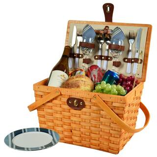 Picnic at Ascot Frisco Picnic Basket for Two|https://ak1.ostkcdn.com/images/products/10117970/P17256965.jpg?impolicy=medium
