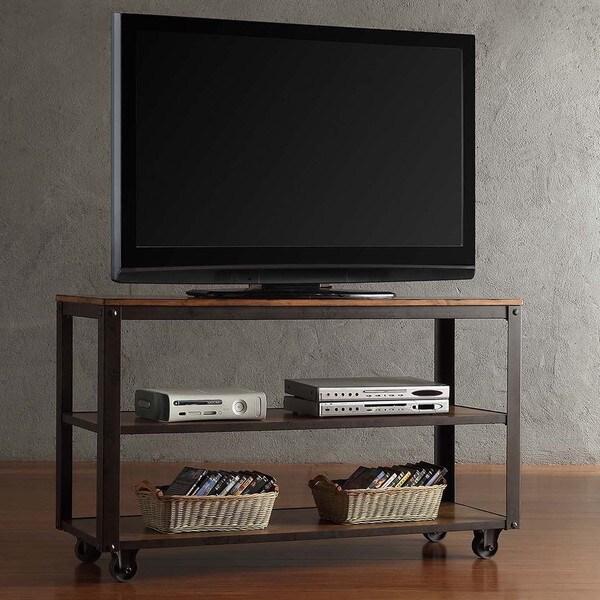 Shop Granger Industrial Rustic Storage Metal Frame Tv