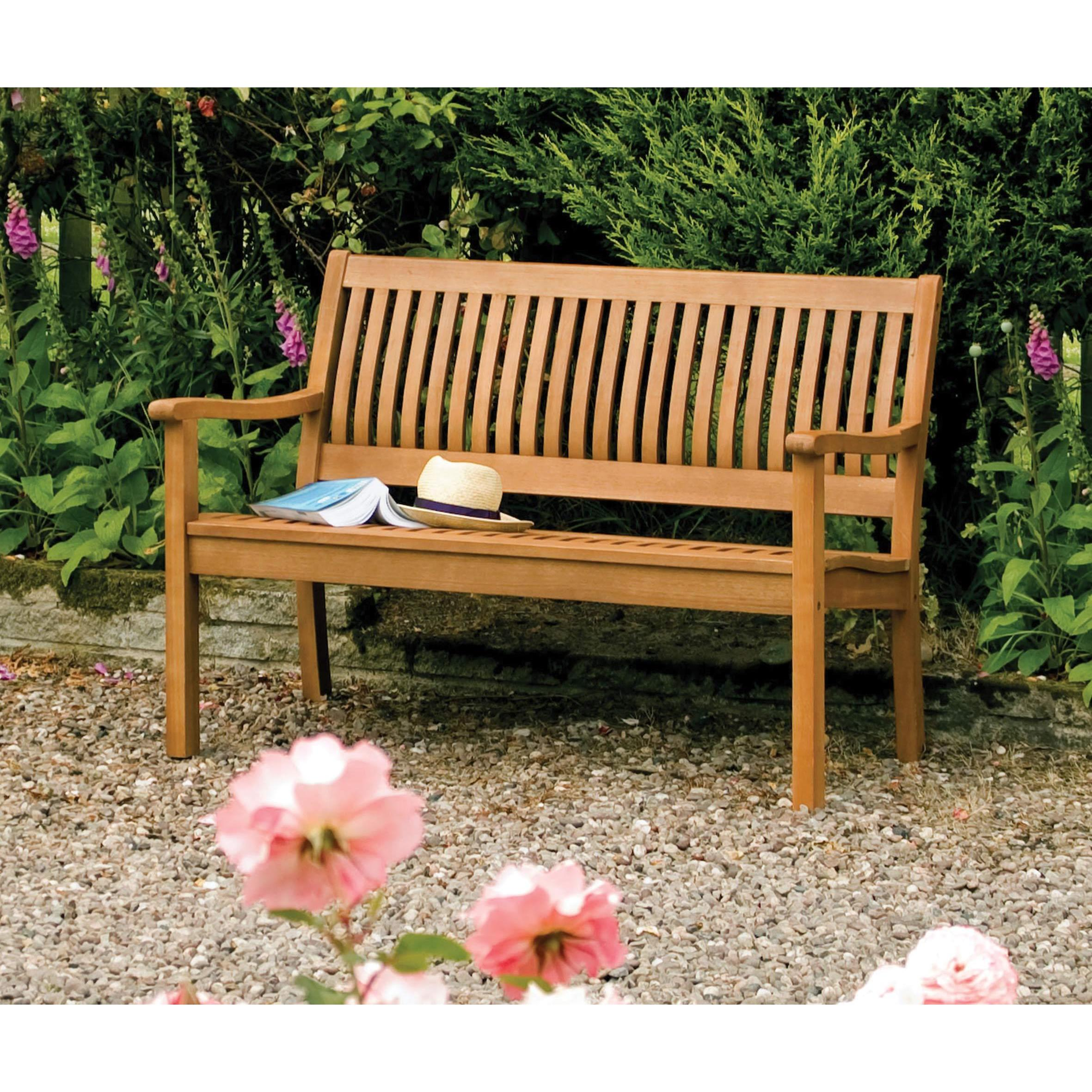 Shop English Garden 48 Inch Wooden Bench Overstock 10118064
