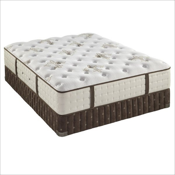 Shop Stearns And Foster 13 5 Inch King Size Lily Rose Tight Top Luxury Plush Mattress Set Free