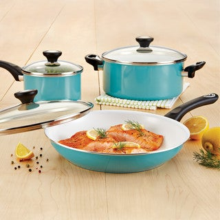 Farberware purECOok Ceramic Nonstick Cookware 12-Piece Cookware Set