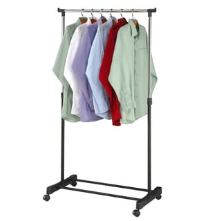 """Link to Adjustable Rolling Garment Rack-Adjusts from 39.5"""" to 60"""" High Similar Items in Laundry"""