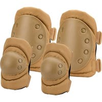 Loaded Gear CX-400 Elbow & Knee Pads, Dark Earth