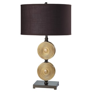 Journee Home 'Orient' 29 inch Drum Shade Table Lamp Pair