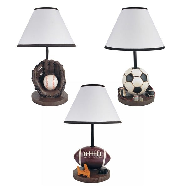 Journee home fanatic 158 inch sport table lamp free shipping journee home x27fanaticx27 158 inch sport mozeypictures Images