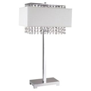 Journee Home 'Elegance' 27.5 inch Crystal Table Lamp