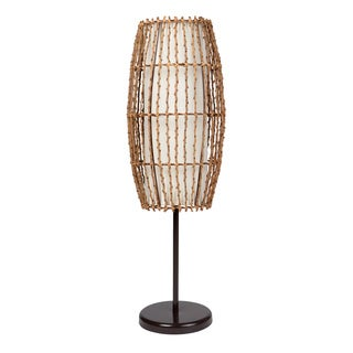 Journee Home 'Old World' 31.5 inch Rattan Table Lamp