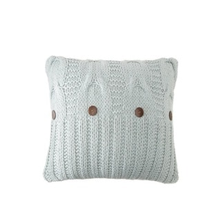 Micheala Cable Knit Decorative 20-inch Throw Pillow
