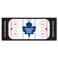 Fanmats Machine-made Toronto Maple Leafs White Nylon Rink Runner (2'5 x 6')