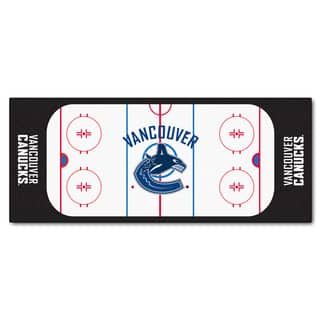 Fanmats Machine-made Vancouver Canucks White Nylon Rink Runner (2'5 x 6')|https://ak1.ostkcdn.com/images/products/10119398/P17258176.jpg?impolicy=medium