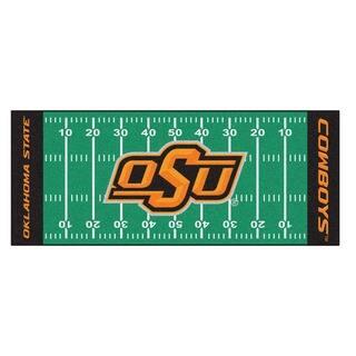 Fanmats Machine-made Oklahoma State University Green Nylon Football Field Runner (2'5 x 6') https://ak1.ostkcdn.com/images/products/10119461/P17258162.jpg?impolicy=medium