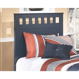Signature Design by Ashley Leo Blue Twin Panel Headboard