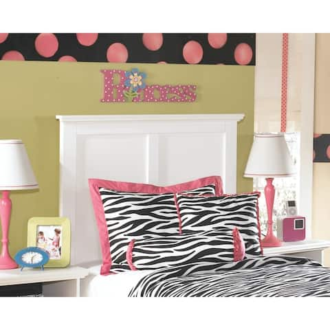 Bostwick Shoals White Twin Panel Headboard