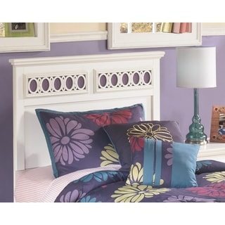 Signature Design by Ashley Zayley White Twin Panel Headboard