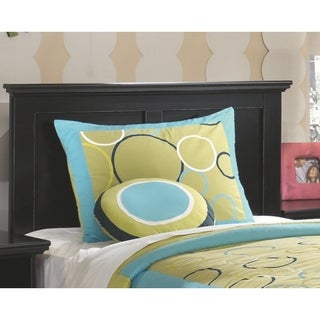 Signature Design by Ashley Maribel Black Twin Panel Headboard