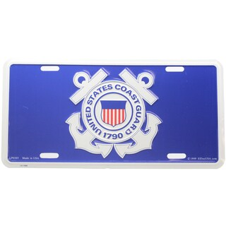 US Coast Guard Logo License Plate