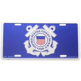 US Coast Guard Logo License Plate