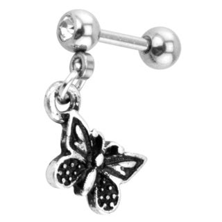 Supreme Jewelry Dangling Butterfly Tragus Earring