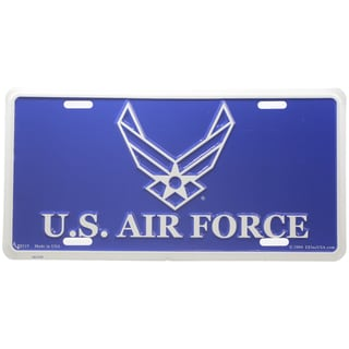 US Air Force Logo License Plate