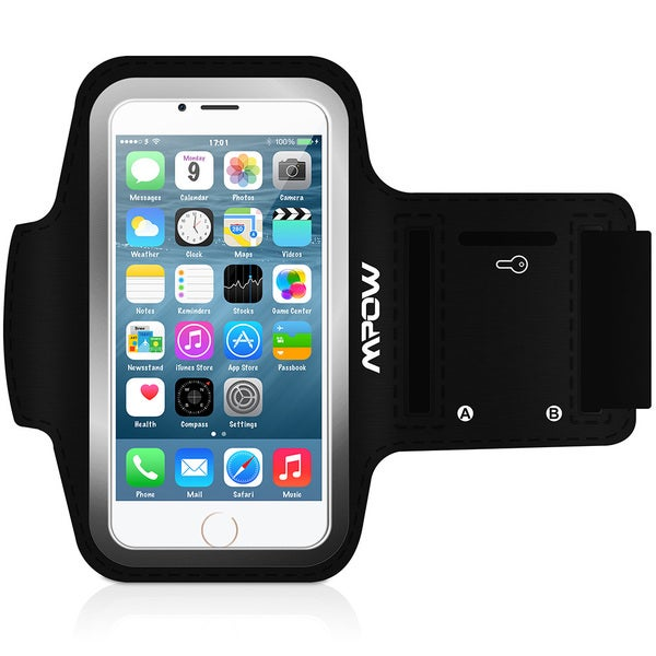 Mpow Running Sport Sweatproof Armband Case + Key Holder for iPhone 6 (4.7-inch )