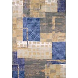 "Tranquility Sea Boxes Area Rug (7'10"" x 10'6"")"
