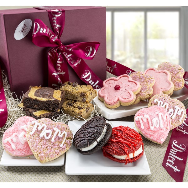 Mother's Day Grand Sweet Cookie and Brownie Best Wishes Gift Box