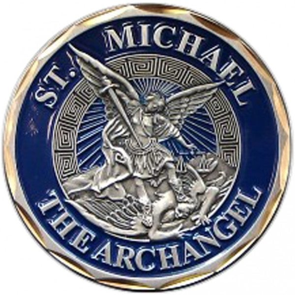 St. Michael The Archangel Challenge Coin