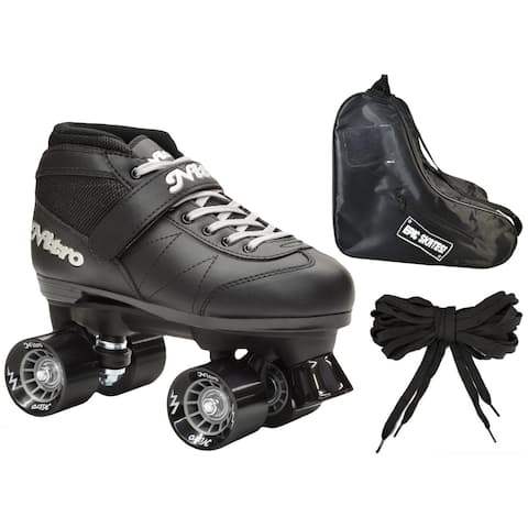 Epic Super Nitro Quad Speed Roller Skate 3-piece Bundle