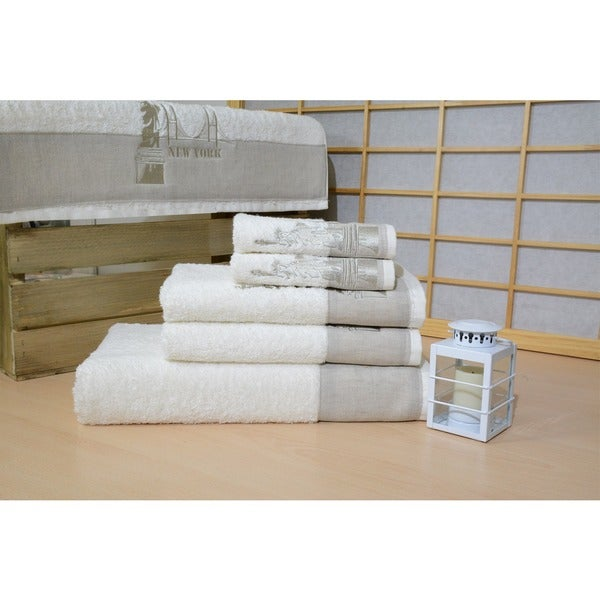 New York Enchante Home 3-Peice Towel Set