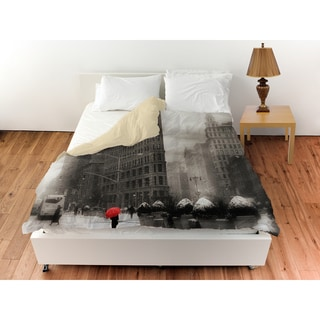 Flatiron Winter Duvet Cover