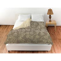Deer Elegance Filigree Duvet Cover