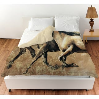 Galloping Horses Duvet Cover