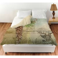 Conifer Lodge Deer Duvet Cover