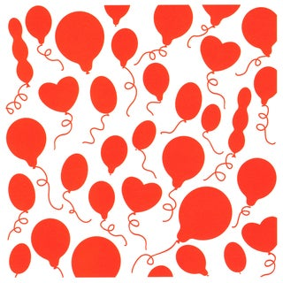 Marianne Design Embossing Folder 5inX5inBalloons Background