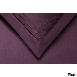 Superior Embroidered 3-line Microfiber Wrinkle-Resistant Duvet Cover Set in Gift Box