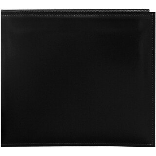 Sewn Leatherette Snapload Album 8inX8inBlack