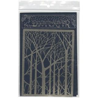 Dreamweaver Metal Stencil 4inX6.75inBare Trees