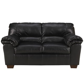 Commando Black Loveseat