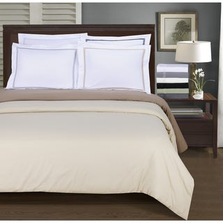 Superior Wrinkle Resistant Embroidered 5-Line 3-piece Duvet Cover Set