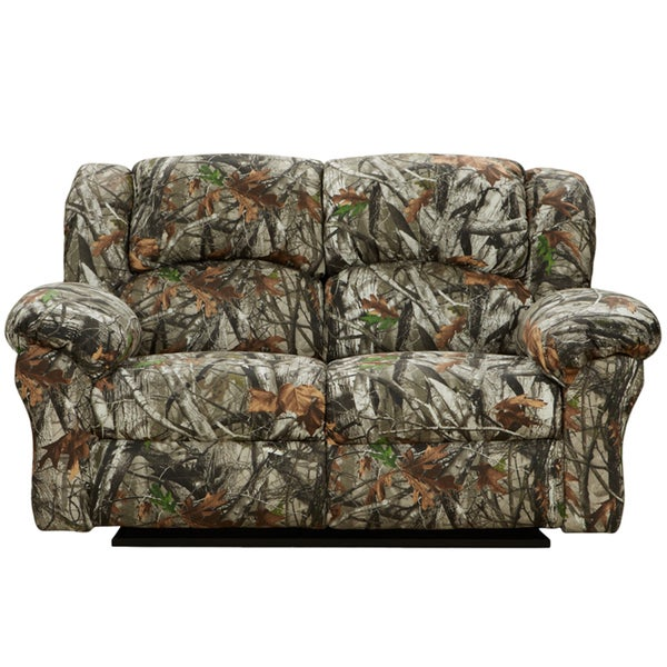 Shop Camouflage Reclining Loveseat Free Shipping Today