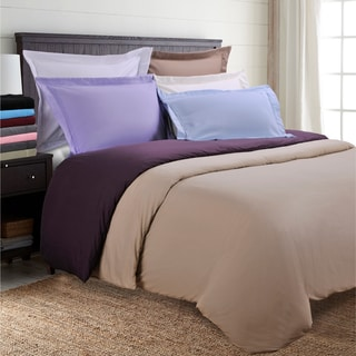 Wrinkle Resistant Embroidered 2-Line 3-piece Duvet Cover Set