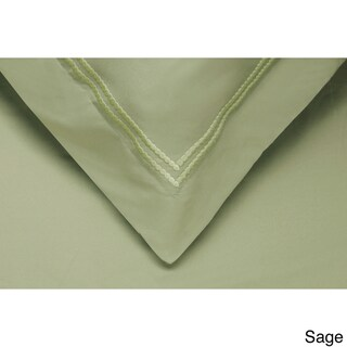Superior Wrinkle Resistant Embroidered Microfiber Duvet Cover Set
