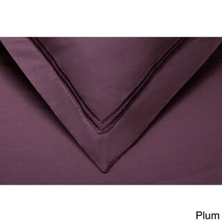 Wrinkle Resistant Embroidered 2-Line 3-piece Duvet Cover Set