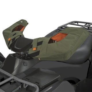 Classic Accessories 15-068-011402-00 QuadGear ATV Handlebar Mitts Olive
